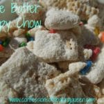 Cake Batter Muddy Buddies up close