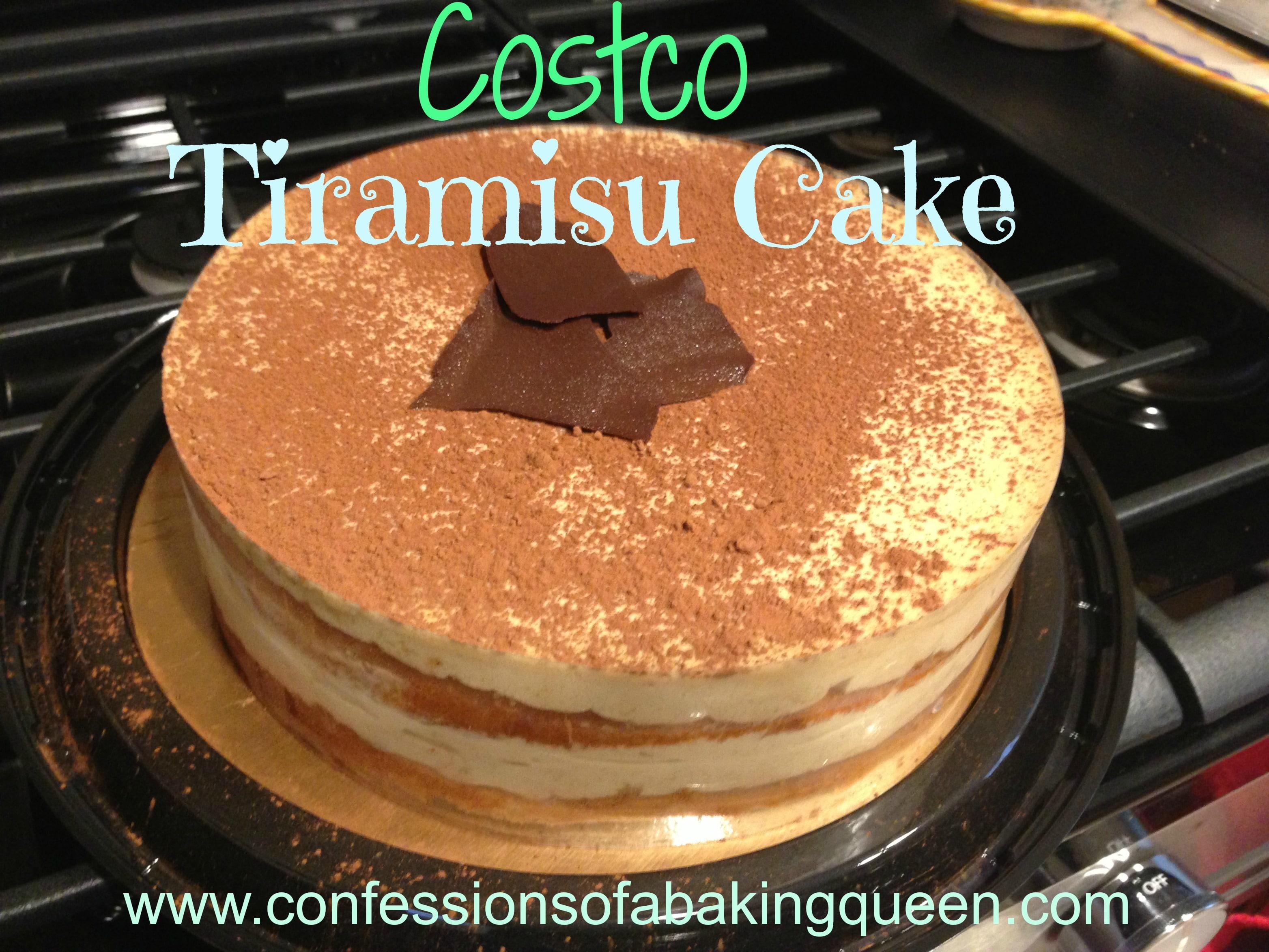 Tiramisu Costco Cake www.confessionsofabakingqueen.com