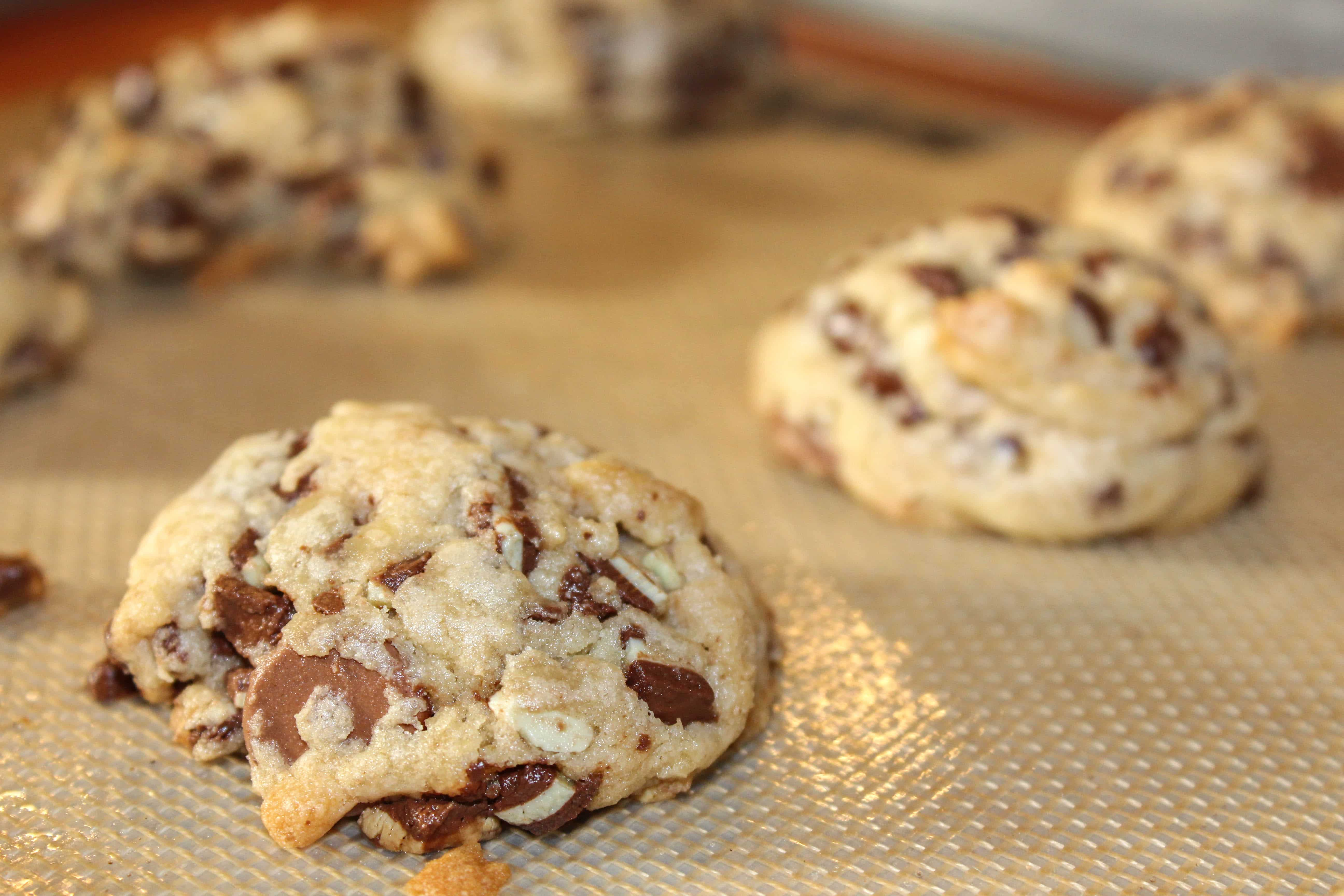 Andes Chocolate Chip Cookies www.confessionsofabakingqueen.com