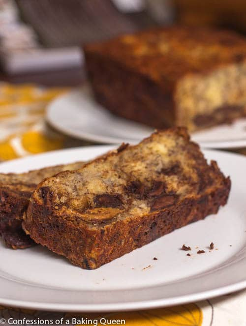 Cookie Butter Chocolate Chip Banana Bread