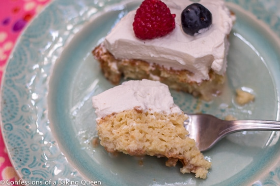 Bailey's Tres Leches Cake- Confessions of a Baking Queen