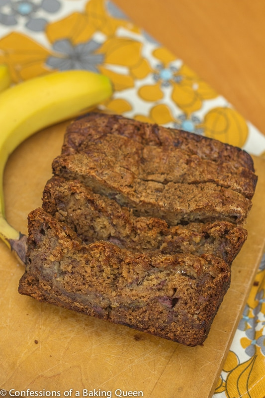 Pudding Banana Bread