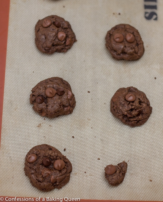 Triple Chocolate Thin Mint Cookies