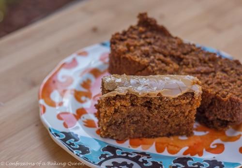 Oat Flour Pumpkin Bread www.confessionsofabakingqueen.com #pumpkin #maple #quickbread #fallbaking