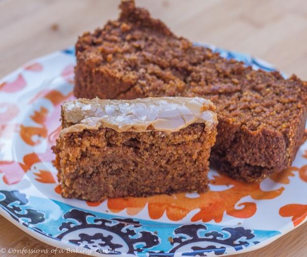Oat Flour Pumpkin Bread www.confessionsofabakingqueen.com #pumpkin # ...