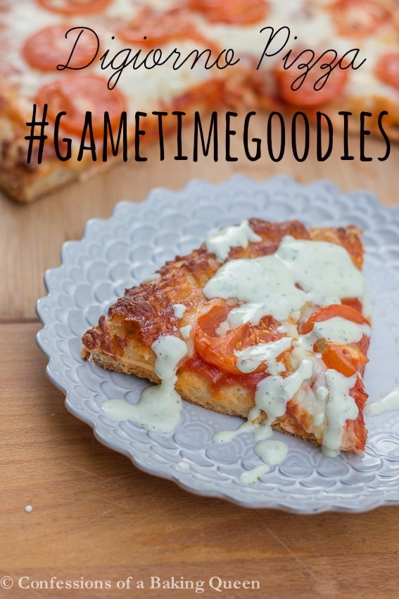 Football or Football Time with Digiorno Pizza & Homemade Ranch #GameTimeGoodies, #shop, #cbias