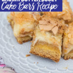 Brown Butter Gooey Cake Bars Recipe Pin