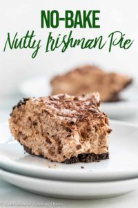 half eaten slice of nutty irishmans pie