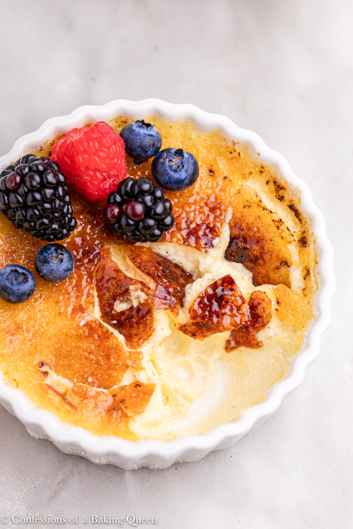 The Best Creme Brulee Recipe Confessions Of A Baking Queen