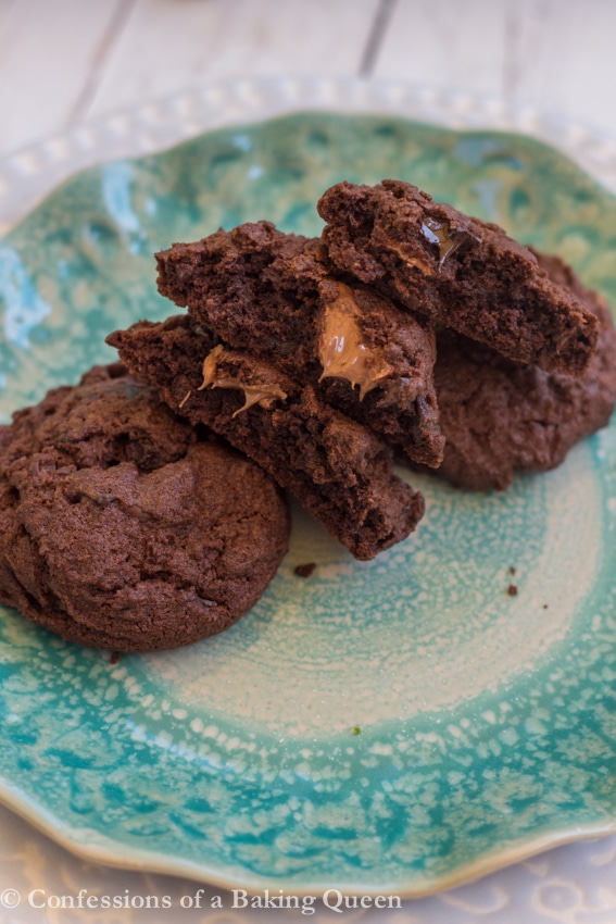 Mix & lots of Chocolate Chunks make these Overload Chocolate Cookies ...
