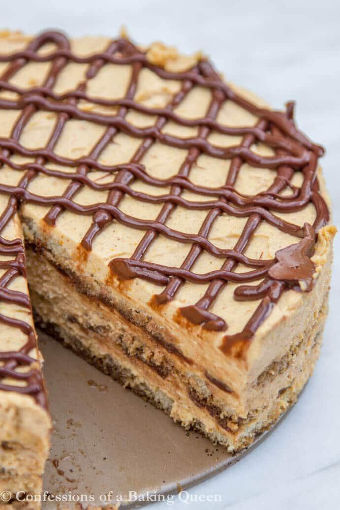 Pumpkin Nutella Tiramisu www.confessionsofabakingqueen.com