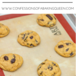 Chewy Chocolate Chunk Cookies www.confessionsofabakingqueen.com