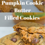 Pumpkin Cookie Butter Filled Cookie Recipe www.confessionsofabakingqueen.com