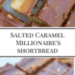 Salted Caramel Millionaire's Shortbread www.confessionsofabakingqueen.com