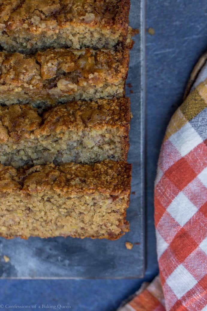 Oat Flour Banana Bread Confessions Of A Baking Queen