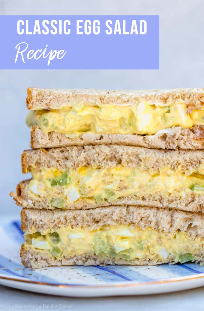 Classic Homemade Egg Salad Sandwiches