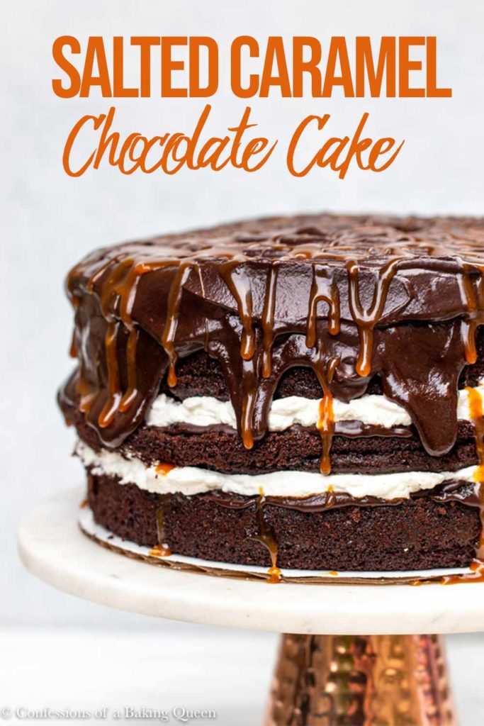 salted caramel chocolate cake recipe