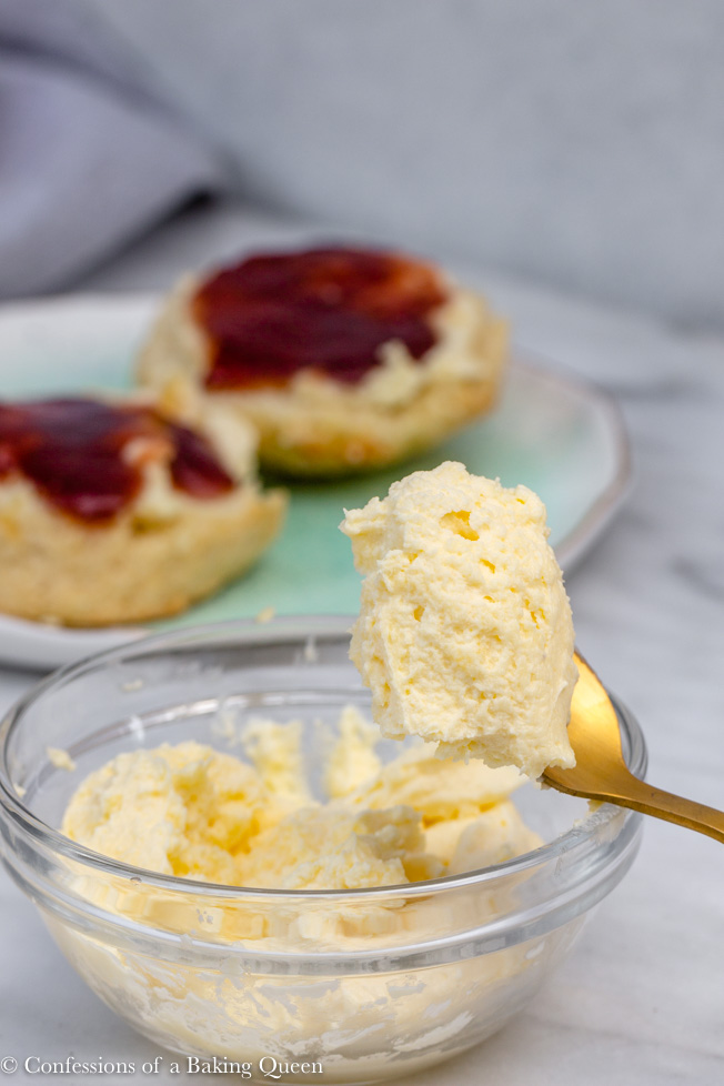 How To Make Real Clotted Cream Confessions Of A Baking Queen