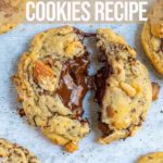 Almond Chocolate Chip Cookies Confessions Of A Baking Queen