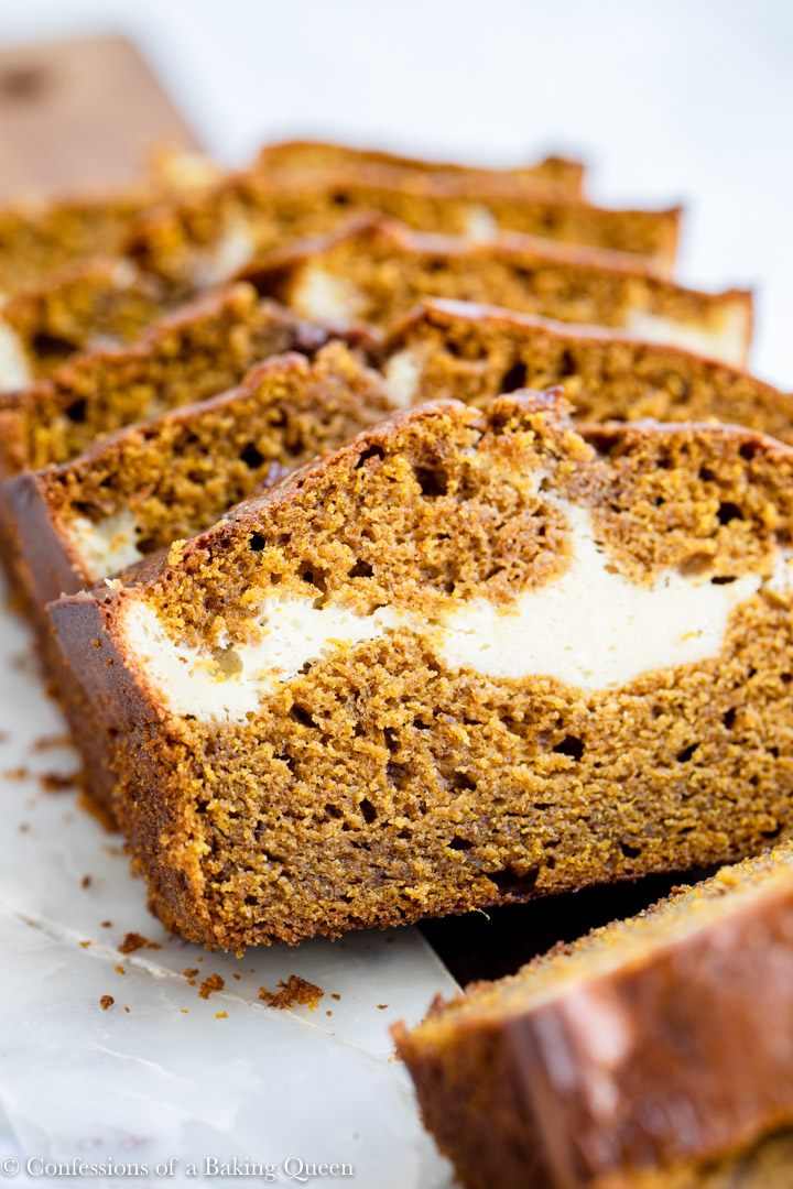 Pumpkin Cream Cheese Bread Confessions Of A Baking Queen