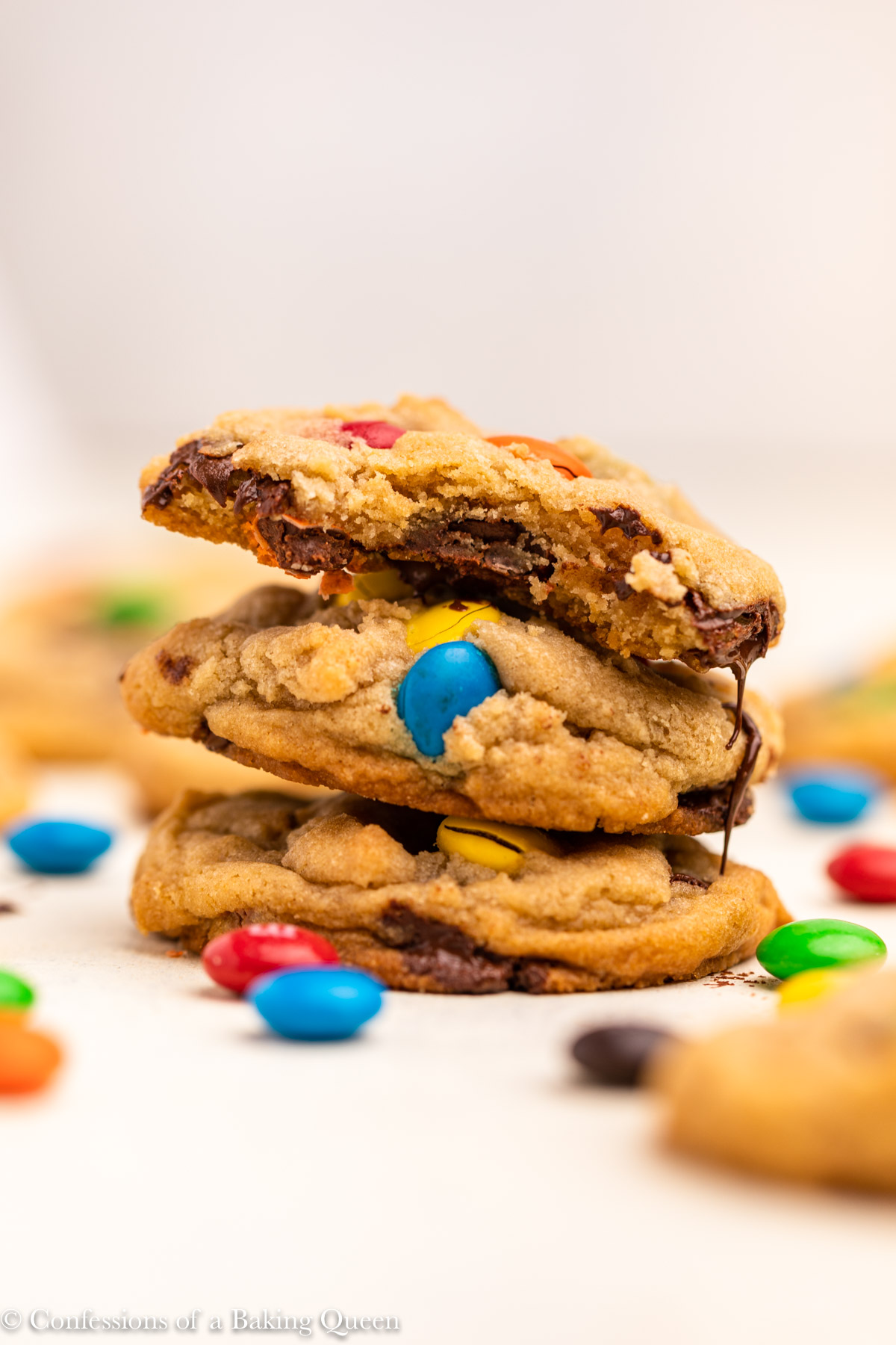 Easy M M Cookies Recipe Confessions Of A Baking Queen