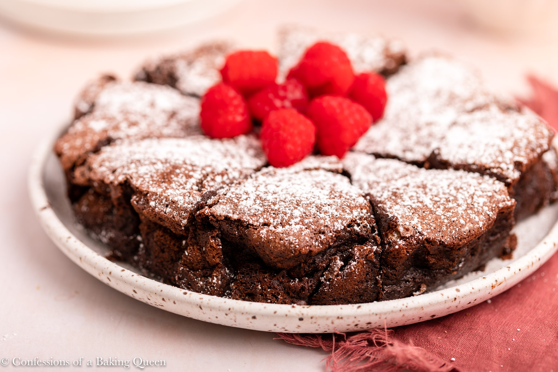 Flourless Chocolate Cake Step By Step Photos Confessions Of A Baking Queen