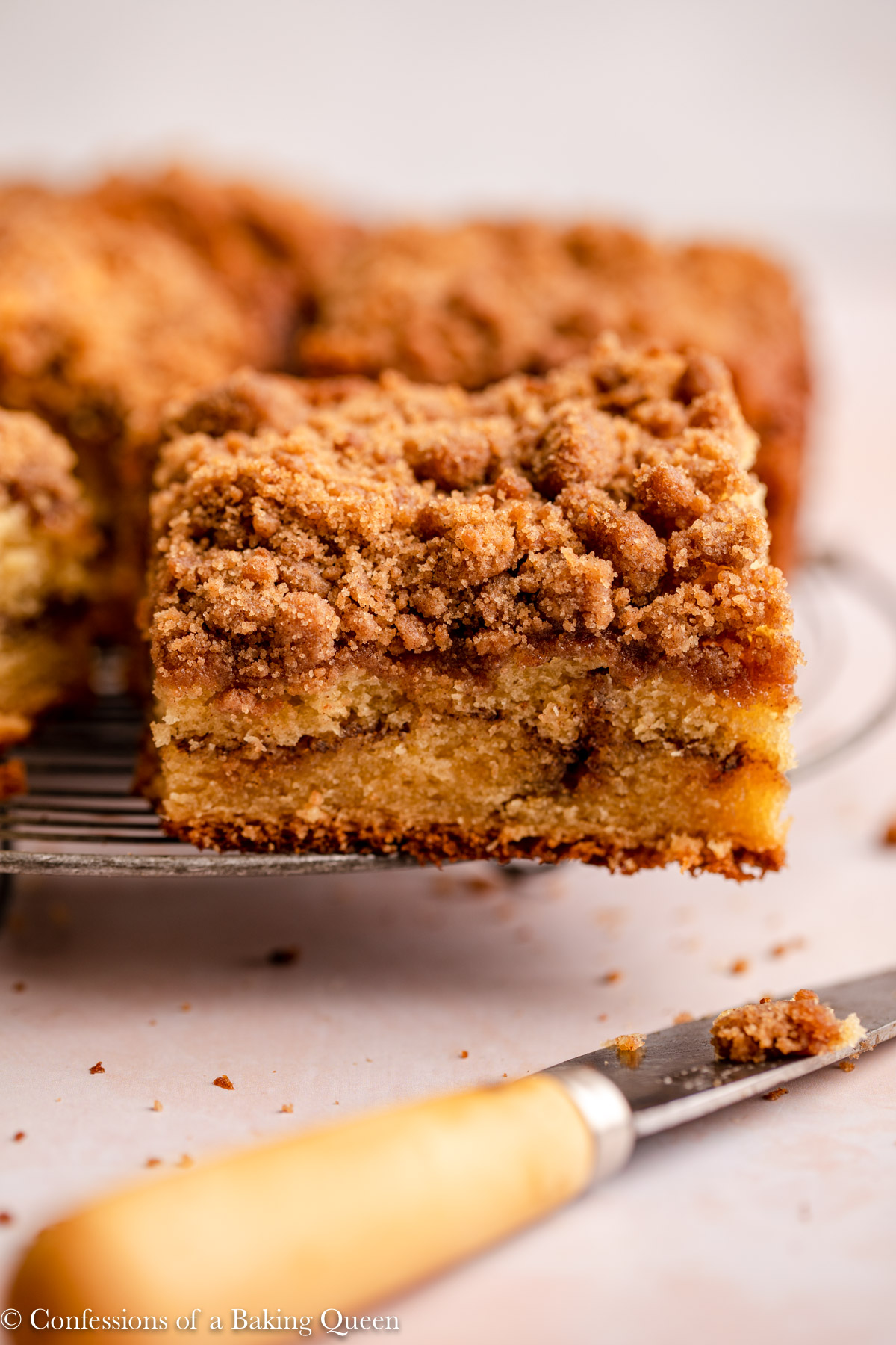 Sour Cream Coffee Cake Confessions Of A Baking Queen