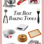 collage of a bunch of baking tools